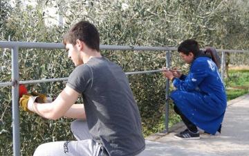 Solarna klupa učenika